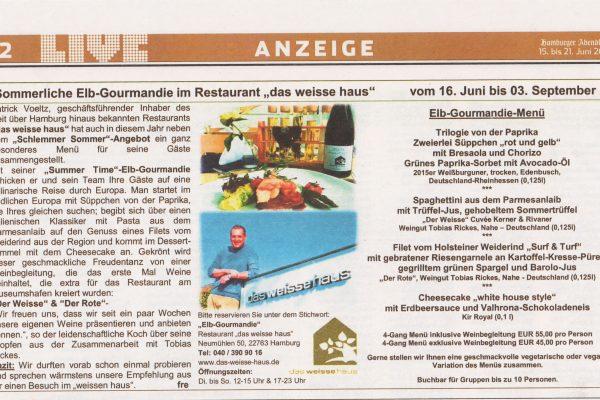 2017-0615_HH-Abendblatt_LiveMagazin_Anzeige-Sommer-Elb-Gourmandie